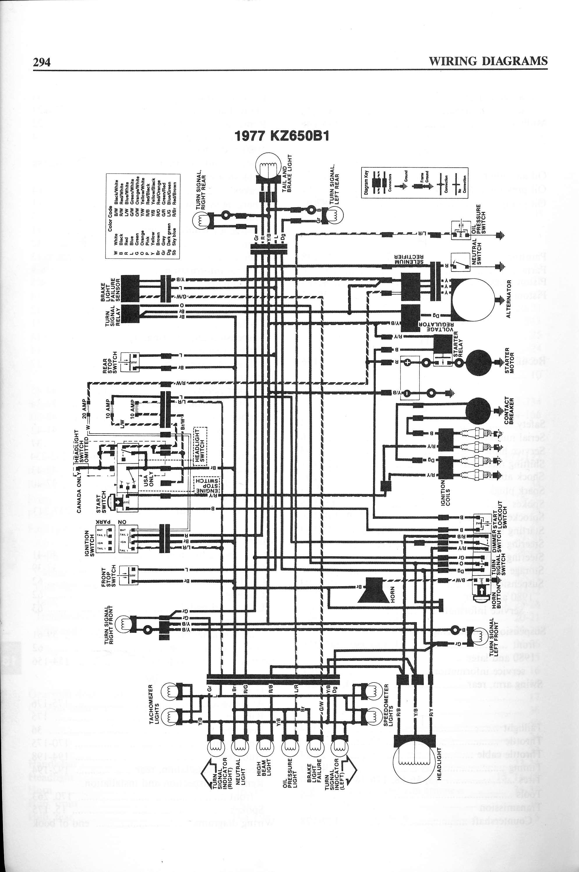 diagram wiring kz650 e1